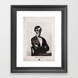 Abram is Dead Framed Art Print