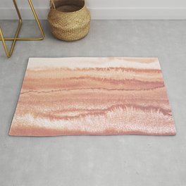 WITHIN THE TIDES BURNISH EARTH by Monika Strigel Rug