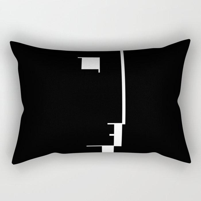 BAUHAUS AUSSTELLUNG 1923 Rectangular Pillow