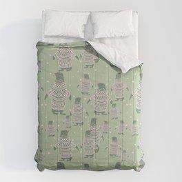 Penguin Christmas Comforters