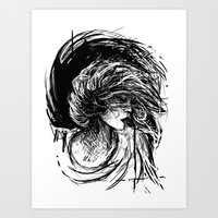 florence Art Prints featuring Florence by Kate Plourde