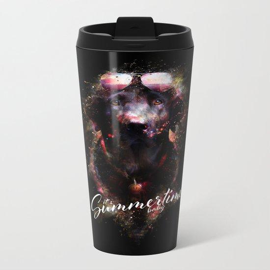 Summertime baby Metal Travel Mug