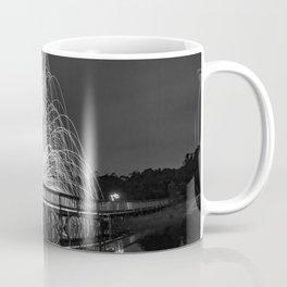 Fire Lake - Light Painting Coffee Mug