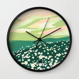 Spring Vibe Wall Clock