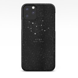 Virgo Zodiac Constellation iPhone Case