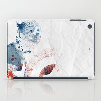 soldier iPad Cases featuring The Soldier by Arian Noveir