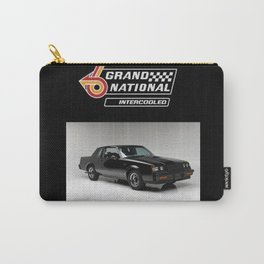 1987 Grand National Intercooled Photographic Print Carry-All Pouch