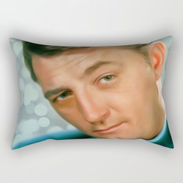Robert Mitchum Rectangular Pillow