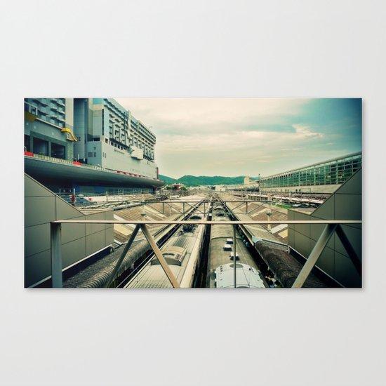 Train station Canvas Print