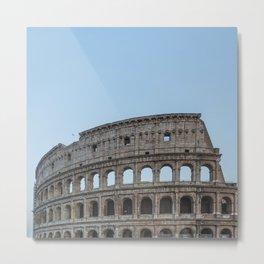 Coliseum of Rome Metal Print
