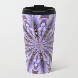 Lilac Kaleidoscope Travel Mug