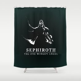 Sephiroth - One Winged Angel Shower Curtain