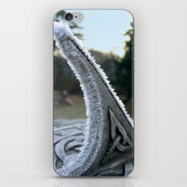 Sundial Frost iPhone Skin