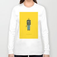 taxi driver Long Sleeve T-shirts featuring Taxi Driver | Famous Costumes by Fred Birchal