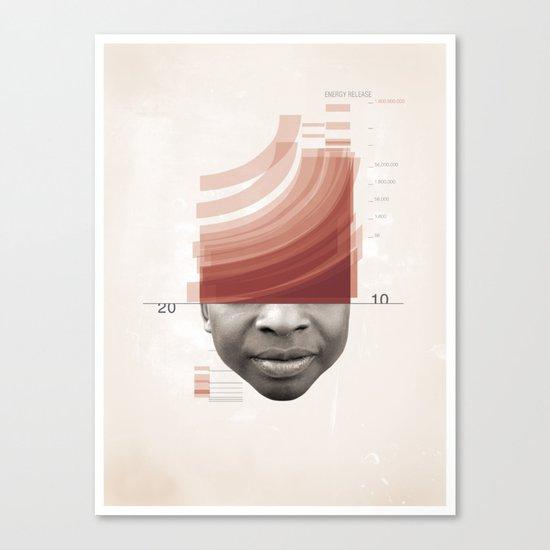 Energy Release Canvas Print