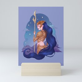 Cancer Zodiac Sign - Gold Mini Art Print