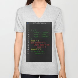 Rasta code Unisex V-Neck