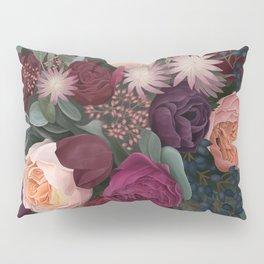 Dark florals Pillow Sham