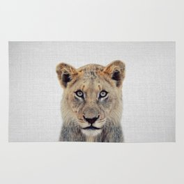 Lioness II - Colorful Rug