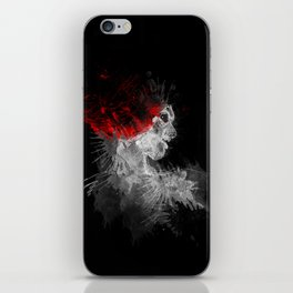 Exit Stage Left iPhone Skin