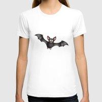 cartoon T-shirts featuring cartoon bat by Li-Bro