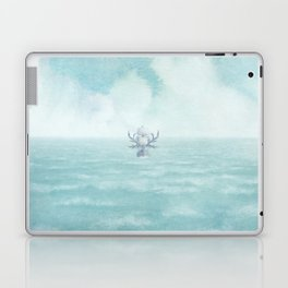 The Antlered Ship - Title Page Laptop & iPad Skin
