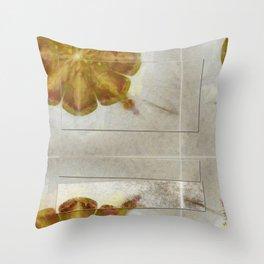 Unmuscular Configuration Flower  ID:16165-031505-06721 Throw Pillow