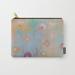 Pastel Daisies Carry-All Pouch