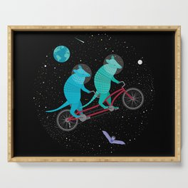 Space Ride Serving Tray