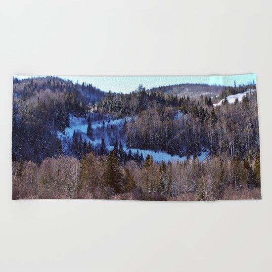 Switchback Trail Beach Towel