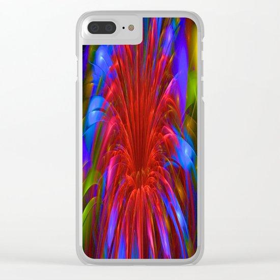 Fiesta Flower Clear iPhone Case