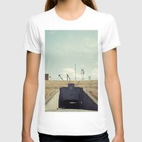 dwight schrute T-shirts featuring the dwight d eisenhower lock by Amanda Stockwell
