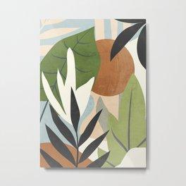 Abstract Art Jungle 4 Metal Print