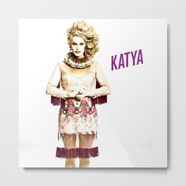 Katya - All Stars 2. Metal Print