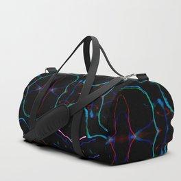 Bright lights in black Duffle Bag