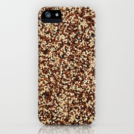 Mixed quinoa iPhone Case