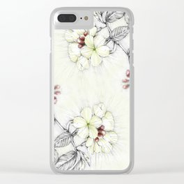 Pequi Flower Clear iPhone Case