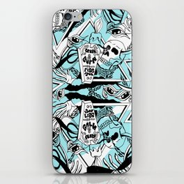 Crash & Burn iPhone Skin