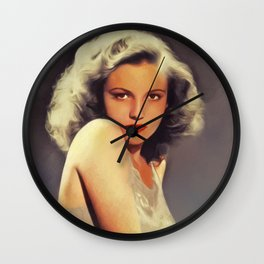 Joan Leslie, Vintage Actress Wall Clock