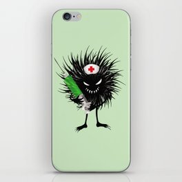 Evil Bug Nurse With Syringe iPhone Skin