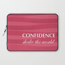 Red for Confidence Laptop Sleeve