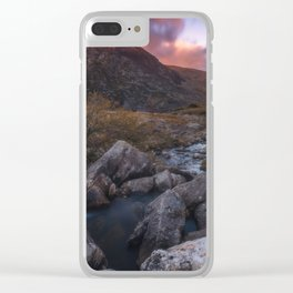 (RR 299) Snowdonia - Wales - UK Clear iPhone Case