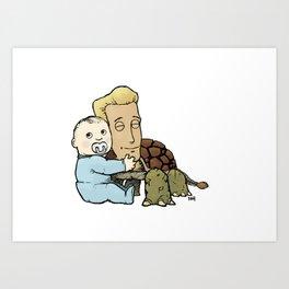 Turtlehead Art Print