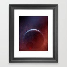 Cosmic Multiplicity Framed Art Print