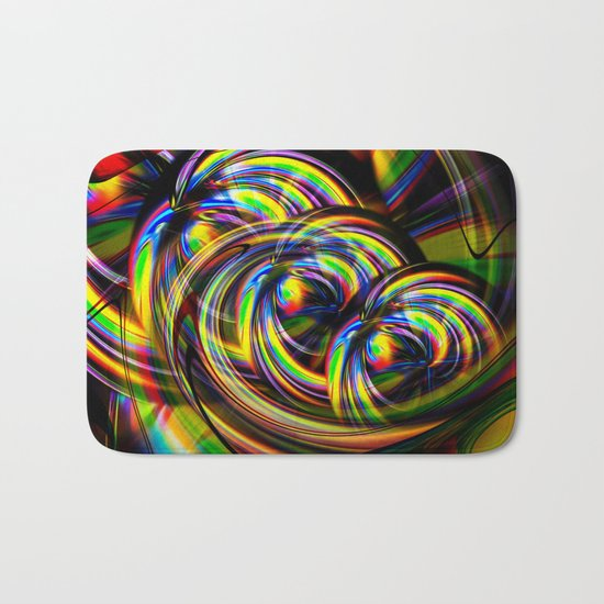 Abstract Perfection 53 Bath Mat