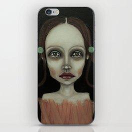 point girl iPhone Skin