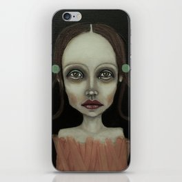 point girl iPhone Skin