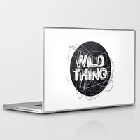 the thing Laptop & iPad Skins featuring Wild Thing by feigenherz BAM