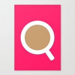 #5 Coffee Canvas Print