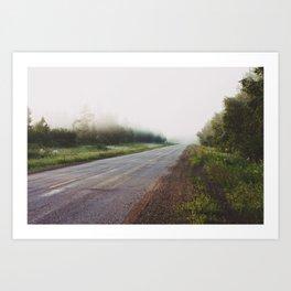 Where Roads End Art Print